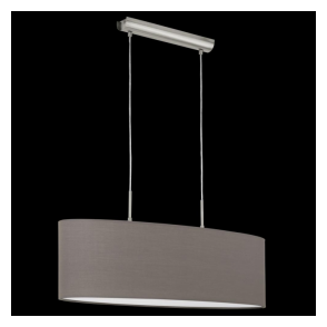 31583 Pasteri 2 Light Pendant Anthracite/Brown