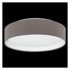 31593 Pasteri LED Ceiling Light Anthracite/Brown