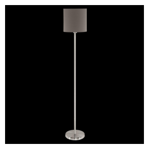 95165 Pasteri 1 Light Floor Lamp Anthracite/Brown