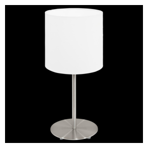 31594 Pasteri 1 Light Table Lamp White