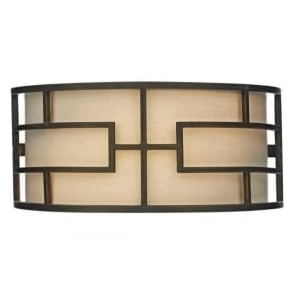 TUM0763 Tumola 2 Light Wall Light Bronze