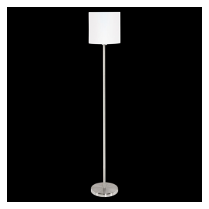 95164 Pasteri 1 Light Floor Lamp White