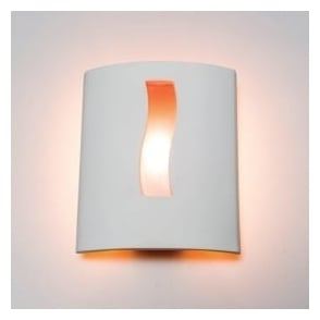 0205WHI Whitby 1 Light Gypsum Wall Light
