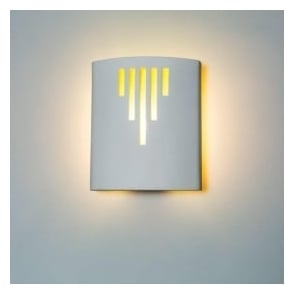 0205RUN Runswick 1 Light Gypsum Wall Light