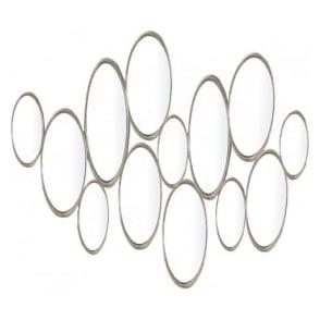 002SAM6578 Samos Gold Rectangle Mirror