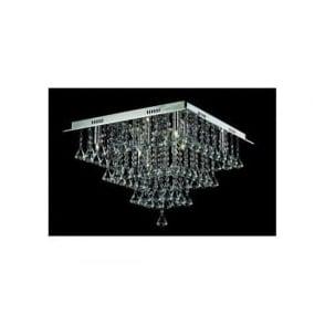 CFH301171/08/PL/CH Parma 8 Light Semi-Flush Ceiling Light Polished Chrome