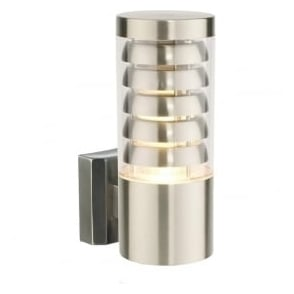 13921 Tango 1 Light LED Wall Brushed Stainless Steel IP44