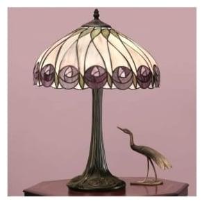 64177 Hutchinson 1 Light Tiffany Table Lamp