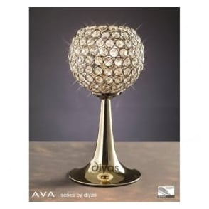 IL30755 Ava 2 Light Table Lamp French Gold