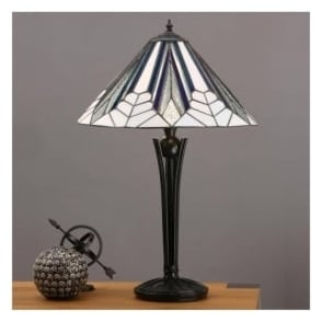 63939 Astoria 2 Light Tiffany Table Lamp