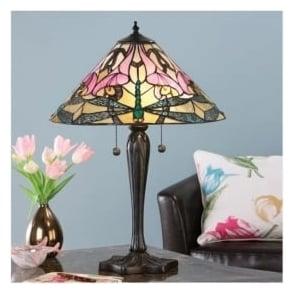 Interiors 1900 63925 Ashton 2 Light Tiffany Table Lamp