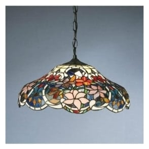 64325 Sullivan 1 Light Tiffany Ceiling Pendant