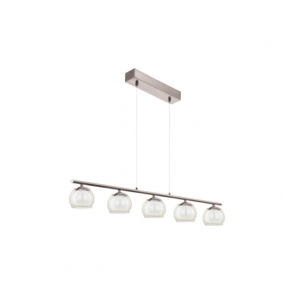 94319 Ascolese 5 Light Ceiling Pendant Satin Nickel