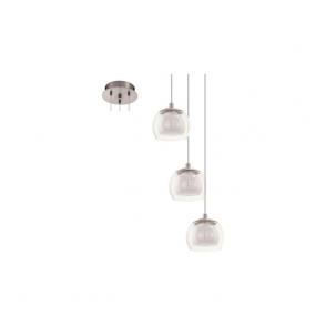 Eglo 94318 Ascolese 3 Light Ceiling Pendant Satin Nickel
