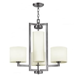 Hinkley HK/HAMPTON4 Hampton 4 Light Ceiling Light Antique Nickel