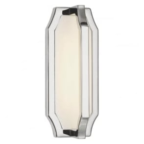 Feiss FE/AUDRIE/W1 Audrie LED Wall Light Polished Nickel