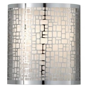 Fiess FE/JOPLIN1 Joplin 1 Light Wall Light Polished Chrome