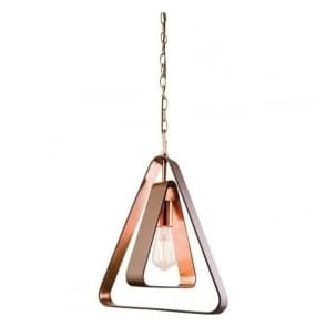 61050 Wilder 1 Light Ceiling Pendant Copper