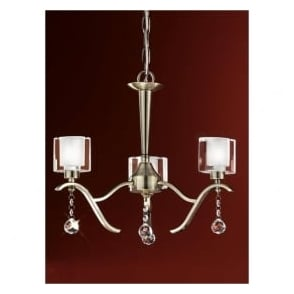 FL2165/3 Theory 3 Light Ceiling Light Bronze