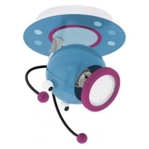 95941 Laia 1 Multi Coloured 1 Light LED Wall Spotlight