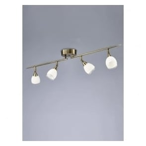 SPOT8984 Lutina 4 Light Spotlight Bronze