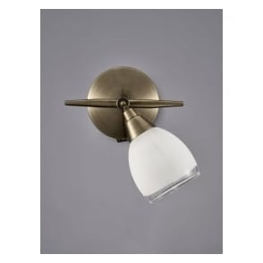 SPOT8981 Lutina 1 Light Switched Spotlight Bronze