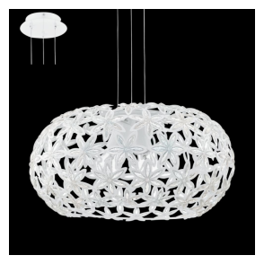 92887 Silvestro1 2 Light Ceiling Pendant White
