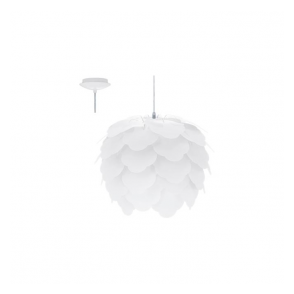 92888 Filetta 1 Light Ceiling Pendant White