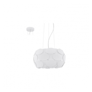 92756 Montorio 3 Light Ceiling Pendant White