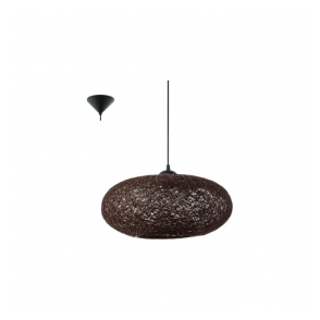 93375 Campilo 1 Light Ceiling Pendant Brown
