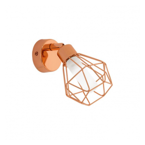 Eglo 95545 Zapata 1 Light Spot Light Copper