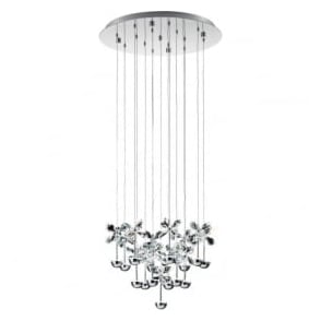 Eglo 93662 Pianopoli LED Ceiling Pendant Polished Chrome