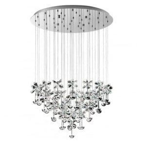 Eglo 93661 Pianopoli LED Ceiling Pendant Polished Chrome