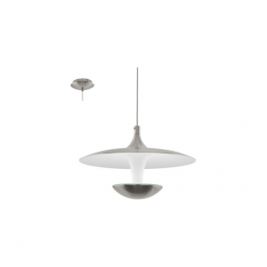 Eglo 95955 Toronja 1 Light Ceiling Light Matt Nickel