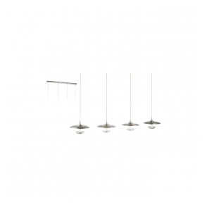Eglo 95957 Toronja 4 Light Ceiling Light Matt Nickel
