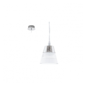 Eglo 94479 Pancento 1 Light Ceiling Light Polished Chrome