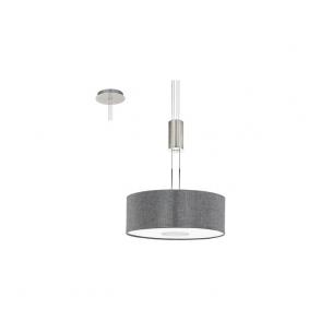 Eglo 95347 Romao 15 Light Ceiling Light Chrome/Satin Nickel