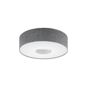 Eglo 95346 Romao 1 Light Flushed Ceiling Light Chrome/Satin Nickel