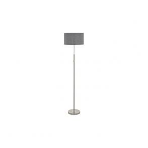 Eglo 95353 Romao 1 Light Floor Lamp Chrome/Satin Nickel