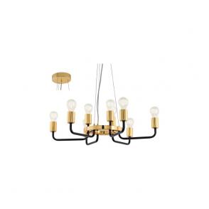 Eglo 95216 Paltas 9 Light Ceiling Light Gold