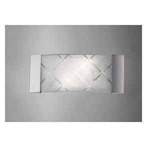 IL31280 Aries 2 Light Wall Light Polished Chrome