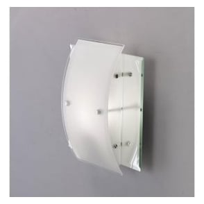 IL30990 Vito 1 Light Wall Light Polished Chrome/Smoked Mirror