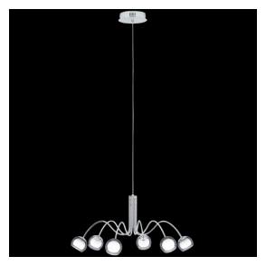 Eglo 39148 Malagon 6 Light Ceiling Pendant Polished Chrome
