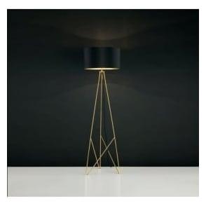 Eglo 39231 Camporale 1 Light Floor Lamp Gold