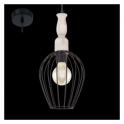 Eglo 49782 Norham 1 Light Ceiling Pendant Black