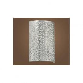 90076 ALMERA 1 1 light modern wall light nickel matt finish
