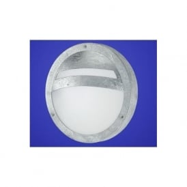 88119 Sevilla 1 light outdoor low energy wall light galvanised finish IP44 rated