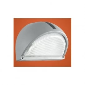 89769 Onja 1 light outdoor wall light silver finish IP44 rated