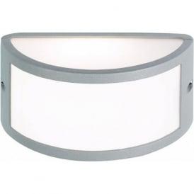 EL-40017 IP44 Outdoor Wall Light In Silver