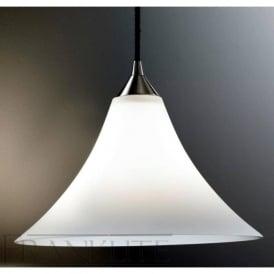 FL2290/1/921 Vetross 1 Light Ceiling Pendant Satin White